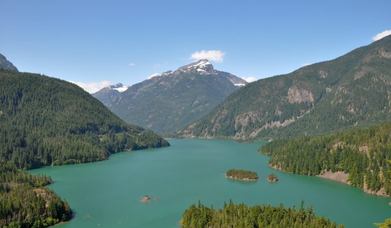 A little slice of heaven at Diablo Lake
